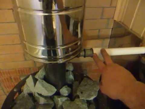 Горячая вода в бане, водонагреватель