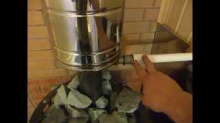 Горячая вода в бане, водонагреватель(Монтаж ГВС в бане. Горячая вода в бане. теплообменник на дымоходе в бане Орехово Зуево http://vodolei-oz.ru/ Где мы..., 2015-06-10T08:57:35.000Z)