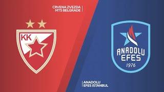 #EuroLeague 22. Hafta: Kızılyıldız mts - Anadolu Efes