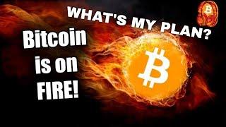Bitcoin sideways this weekend?! ...