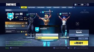 Dancing at the same time in Fortnite