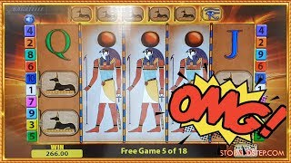 ** ULTRA RARE ** TRIPLE WILDS on Eye of Horus!! 🍀