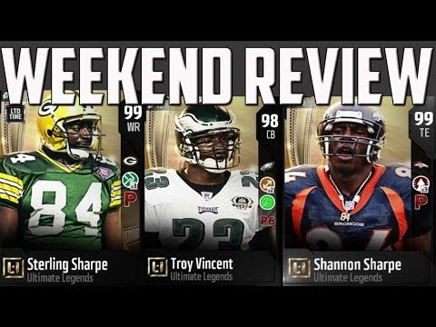 WHO'S IN FREE 99 UL PACK? FAP PACKS AND STERLING SHARPE, SHANNON SHARPE AND TROY VINCENT GAMEPLAY!