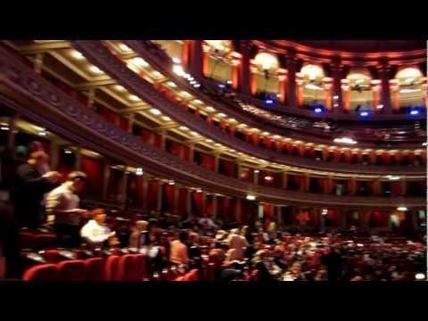 Royal Albert Hall video pan