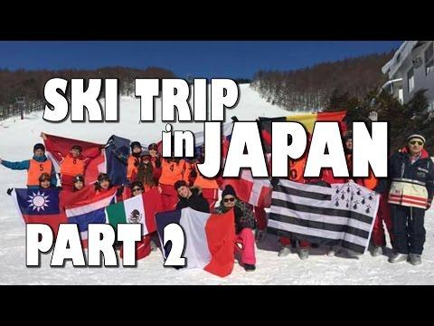 Rotary Exchange Student Japan Trip 16/17 : Rotary Ski Trip to Niigata [PART 2]