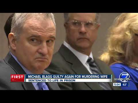 Michael Blagg found guilty of wife's murder in re-trial