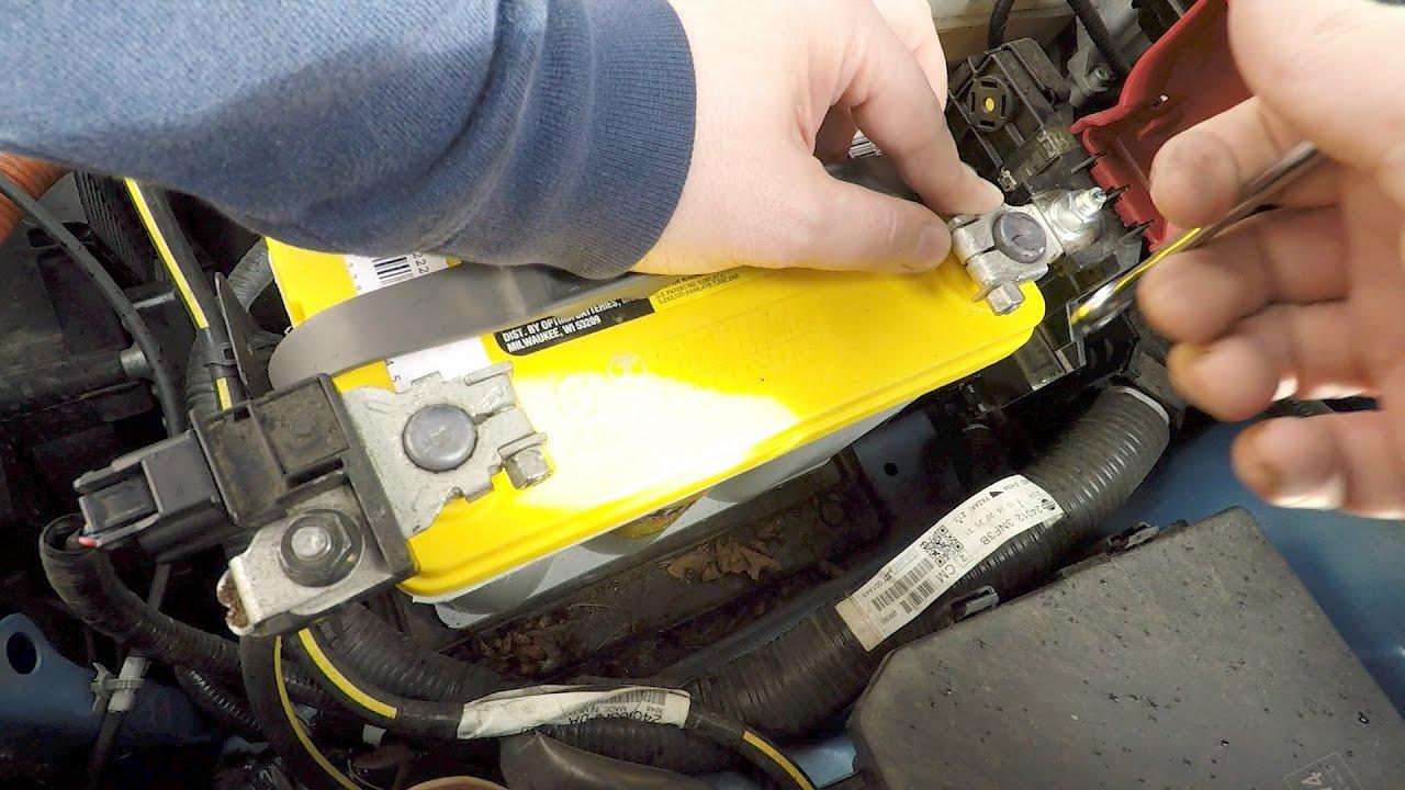 Staff Car Update Nissan Leaf 12 Volt Battery Upgrade Optima Dc Wiring Yellowtop G51r