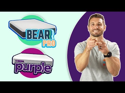 Bear Pro Vs Purple   Foam & Hybrid Mattress Reviews (NEW)