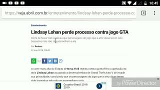 Lindsey Lohan entra com processo contra a rockstar