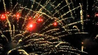 Салют в честь дня победы (9 мая 2012 г.Никополь)