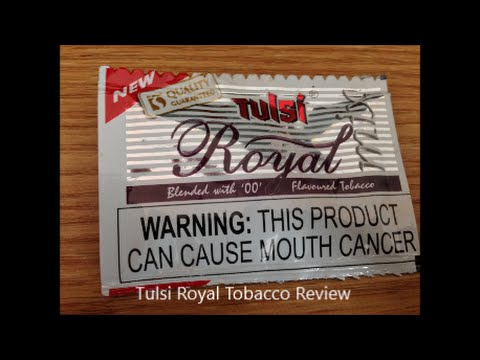 Tulsi Royal Tobacco Review