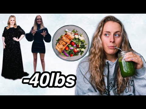 I TRIED ADELE'S WEIGHT LOSS DIET (sirtfood diet)