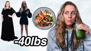 I TRIED ADELE S WEIGHT LOSS DIET sirtfood diet it actually works