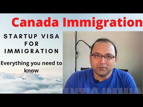 Startup visa program Canada - Pathway to Canadian PR