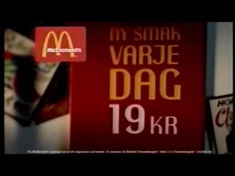 McDonalds  (TBC image)  TV5 reklam      Fre 9 oktober 1998