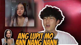 ANN NANG NANN TIKTOK REACTION VIDEO (ANG LUPET) | JOSHUA AGATEP