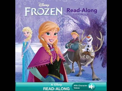 Disney Frozen Storybook & Read-Along CD! Elsa, Anna, Olaf!