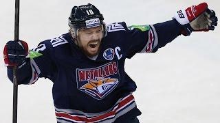 Мега Мозякин установил рекорд КХЛ набрав 1000-е очко