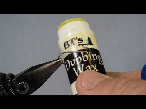 Using Dubbing Wax