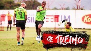 Treino do Flamengo - 29/10/2019