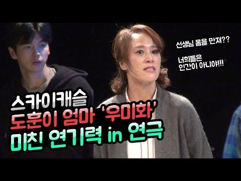 스카이캐슬 도훈이 엄마 '우미화' 정체는 미친 연기력의 베테랑 연극배우