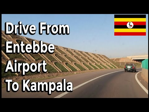 Drive from Entebbe Airport to Kampala Uganda 🇺🇬  Feb 2019 | It's Iveoma