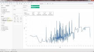 Wie erstellen Sie einen Linearen Regressionsmodells in Tableau mit R