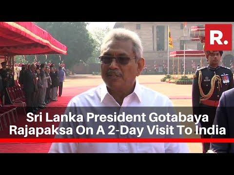 Sri Lanka President Gotabaya Rajapaksa On A 2-Day Visit To India
