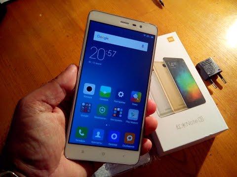 Xiaomi Redmi Note 3 Pro (Prime) 3/32Gb Распаковка и первое впечатление. Где купить?