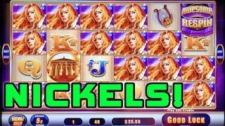 AWESOME REELS BURSTING ME UP! ★ LADY OF ATHENS ➜ BELLAGIO Las Vegas
