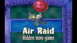 Plants vs Zombies // Air Raid (Hidden mini-game) // BackLash