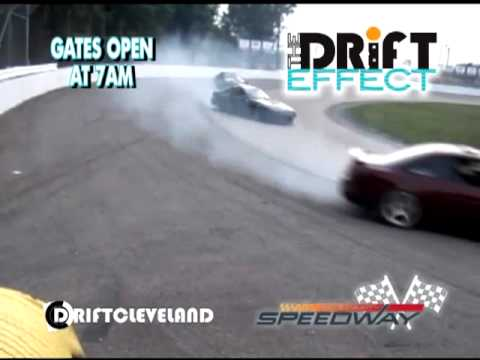 Lake County Speedway Drift Effect Commercial