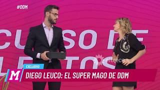 Diego Leuco debutó como mago con un truco usando fuego thumbnail