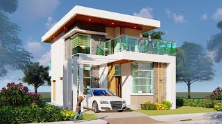 Minimalist 2 Storey House Design