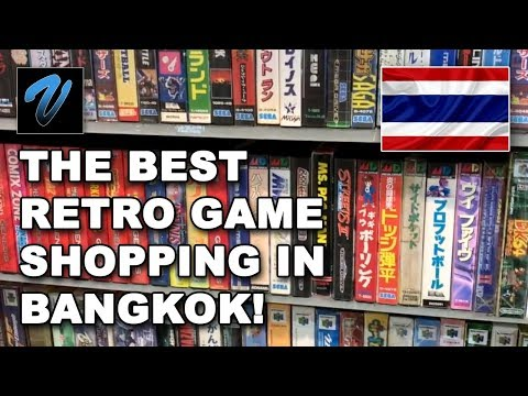 Bangkok RETRO GAMING SHOPPING in Thailand // O-CORNER MBK
