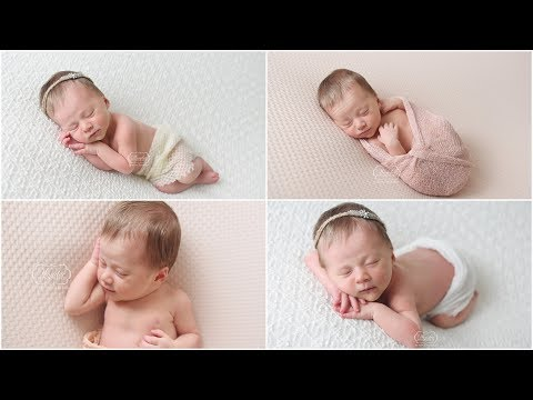 How To Use A Speedlight (Studio Light) And Natural Light During A Newborn Photoshoot