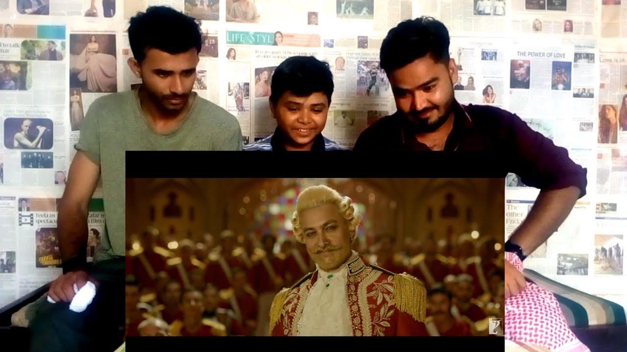 Download Pakistani Reaction | Thugs Of Hindostan - Official Trailer | Amitabh Bachchan | Aamir Khan | Katrina