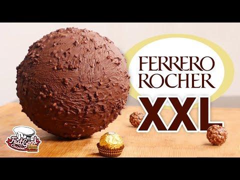 RECETTE FERRERO ROCHER XXL (La meilleure bûche de Noël)