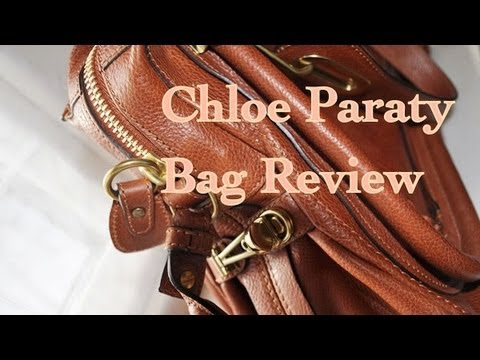 Chloe Paraty Bag Review - YouTube