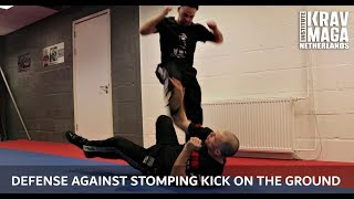 Krav Maga Technique of the Week: Defense against Stomping Kick on the Ground with Heath Leavitt