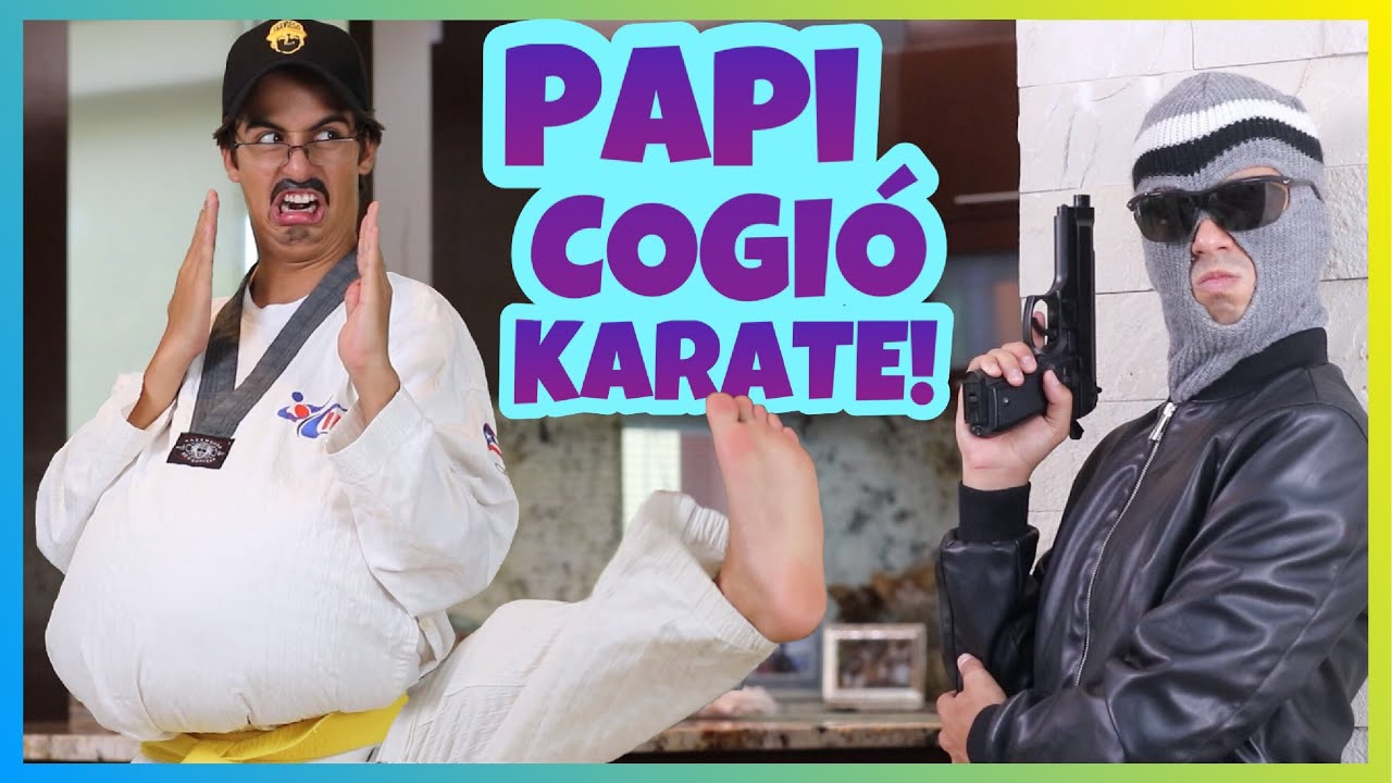 Daniel El Travieso - Papi Cogió Clases De Karate!!!