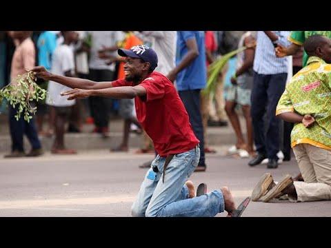 euronews (en français): RDC : 6 morts dans des manifestions anti-Kabila