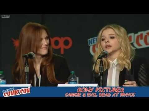 Comic Con 2012 Carrie Panel