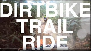 #59: DIRTBIKE TRAIL RIDE || Motovlog Malaysia