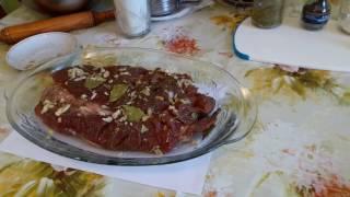 Готовим из мяса ...Буженина в тесте...