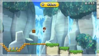 New Super Mario Bros U - Herausforderung (Challenge) - Maxi-Igluck-Übersteiger (Lurchin