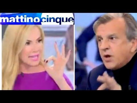 MATTINO 5 LITE PANICUCCI PISICOLOGO MORELLI LE PAROLACCE DILLE A CASA TUA