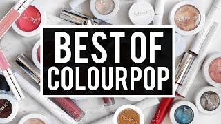 BEST OF COLOURPOP: My All-Time Favorite Products | Jamie Paige