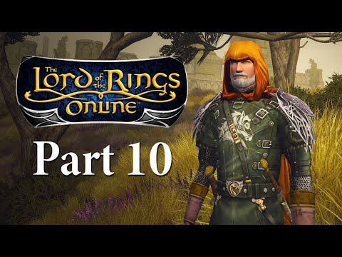 Lord Of The Rings Online Gameplay Part 10 - Chetwood To Staddle - LOTRO Let's Play Series