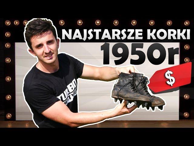 EKSPERYMENT: NAJSTARSZE KORKI PIŁKARSKIE - 1950r!